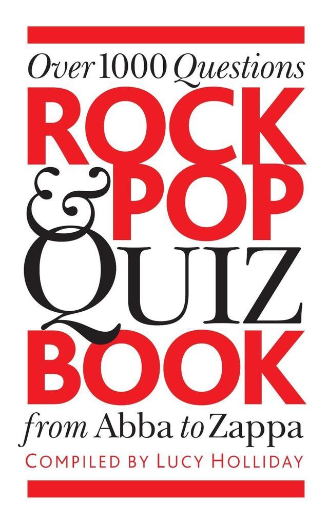 The Rock & Pop Quiz Book als eBook Download von...