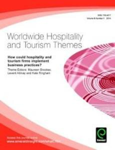 How could hospitality and tourism firms impleme...