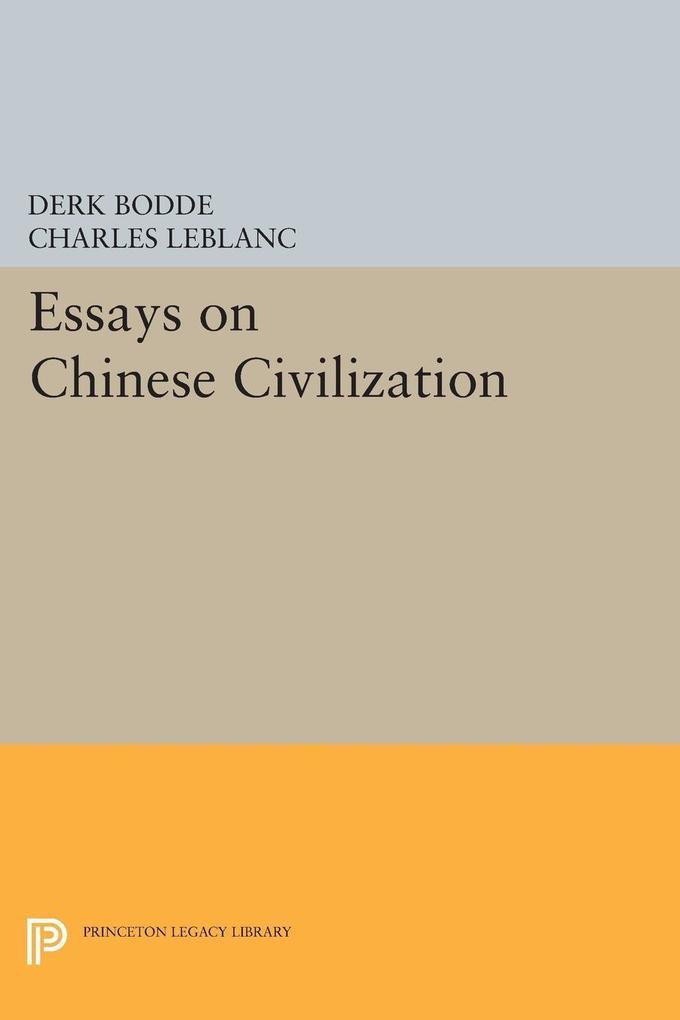 Essays on Chinese Civilization als eBook Downlo...