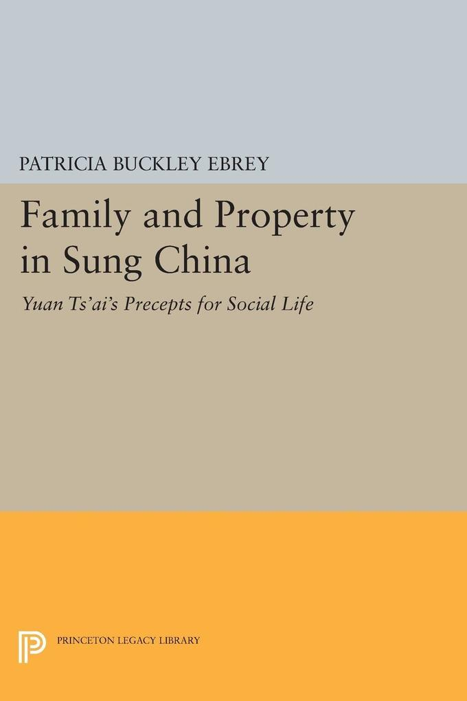 Family and Property in Sung China als eBook Dow...