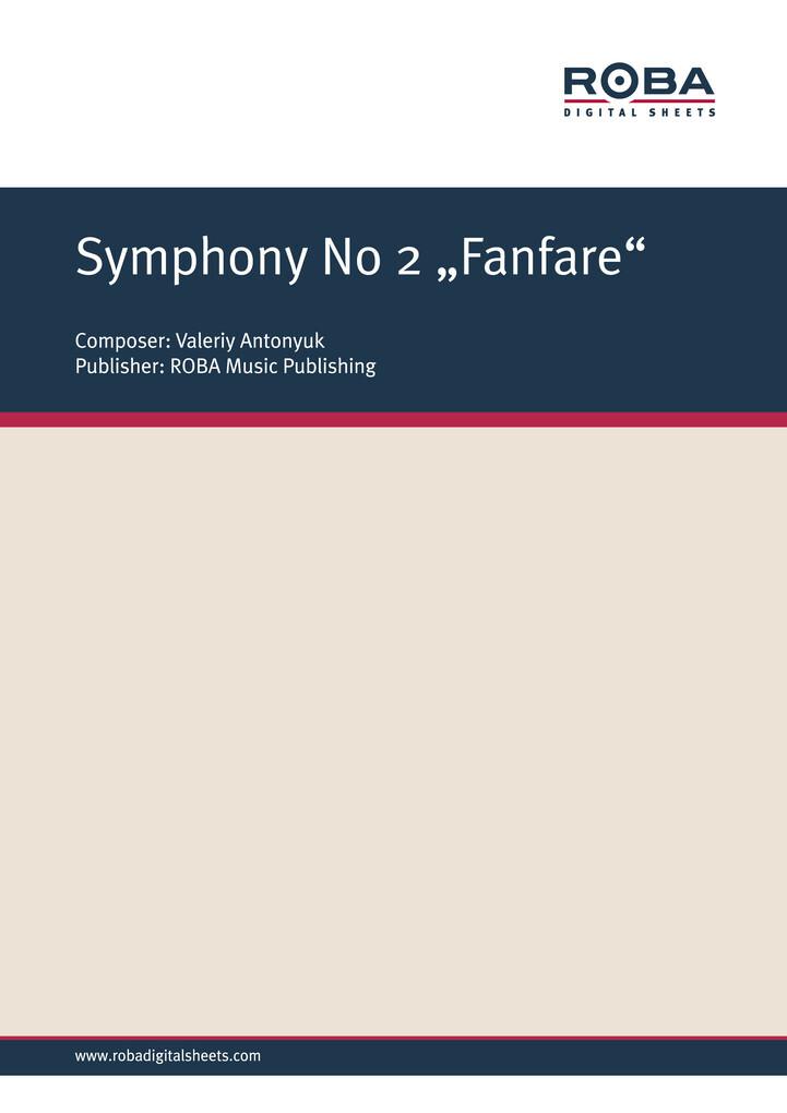 Symphony ´ 2 Fanfare als eBook Download von
