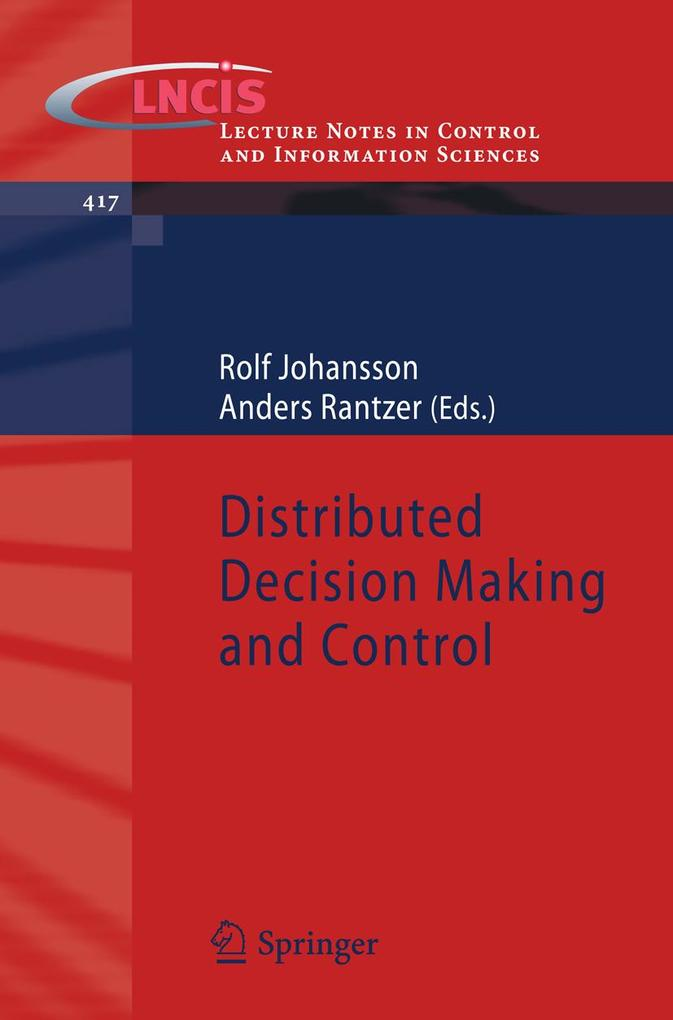 Distributed Decision Making and Control als eBo...