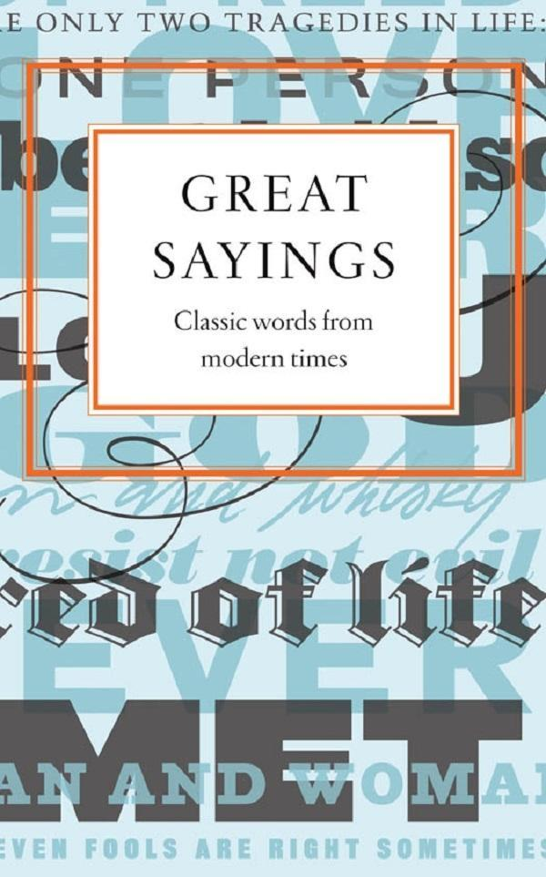 Great Sayings als eBook Download von Various