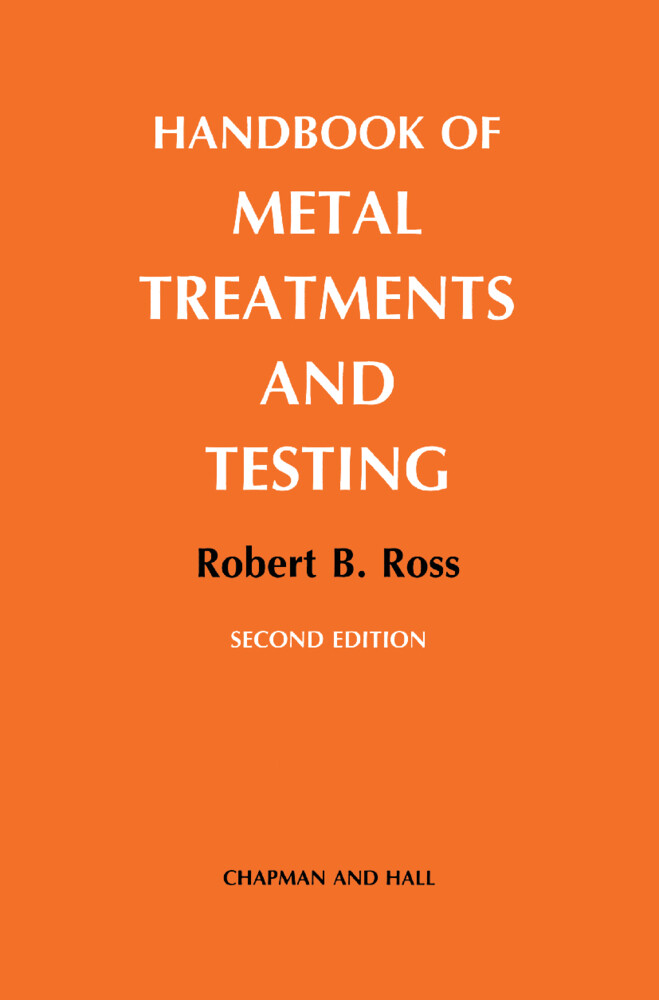 Handbook of Metal Treatments and Testing als Buch