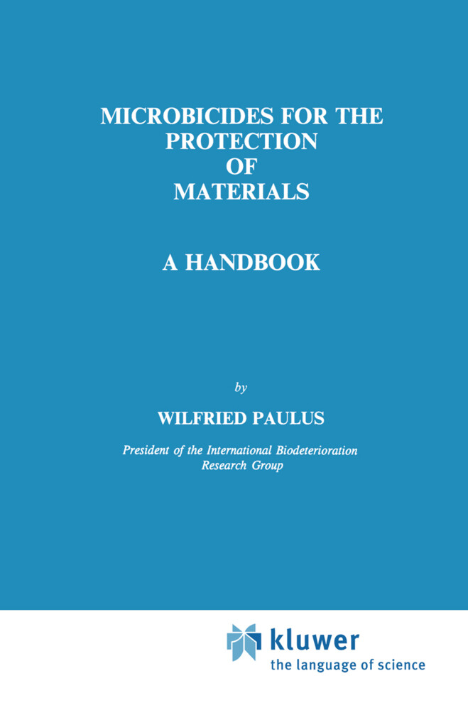Microbicides for the Protection of Materials als Buch