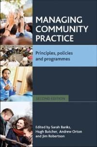 Managing community practice als eBook Download von