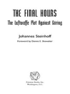 The Final Hours als eBook Download von Johannes...