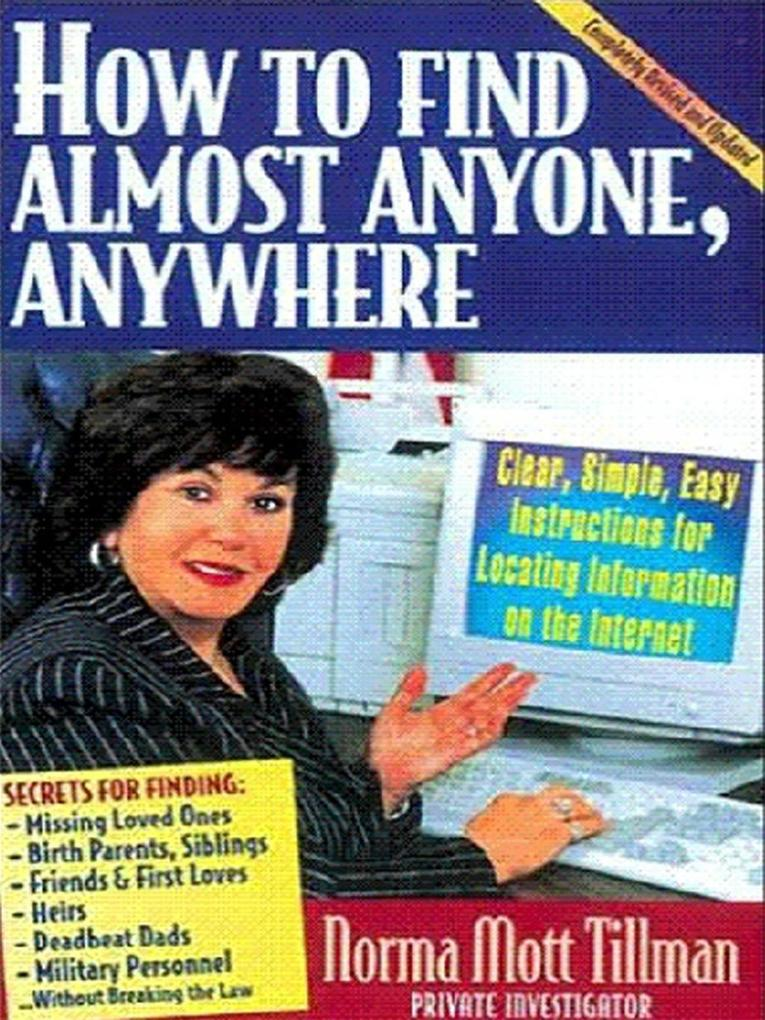 How to Find Anybody, Anywhere als eBook Downloa...