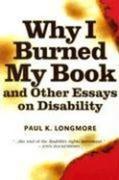 Why I Burned My Book