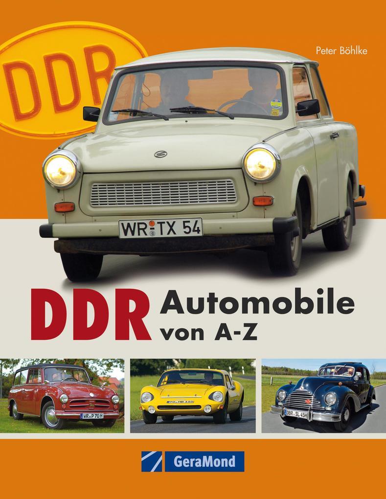 DDR Automobile von A-Z als eBook Download von