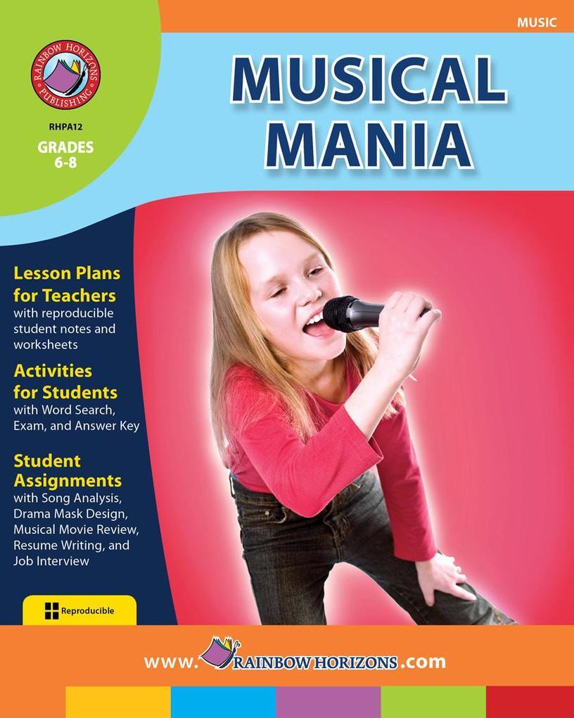 Musical Mania als eBook Download von Jane Minshull