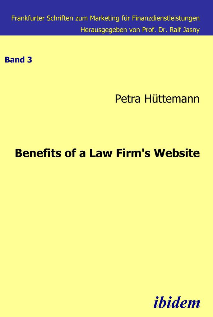 Benefits of a law firm´s website als eBook Down...