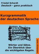 Kurzgrammatik der deutschen Sprache