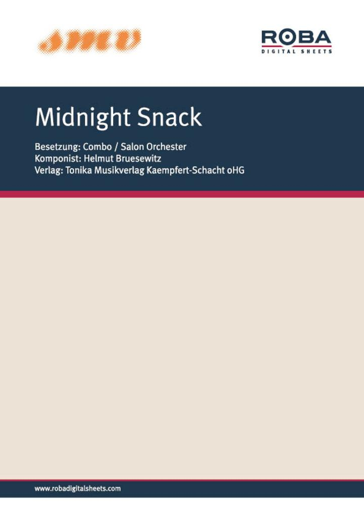 Midnight Snack als eBook Download von