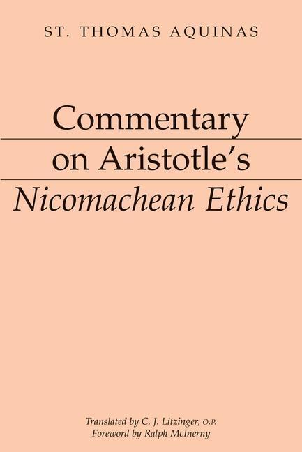 Commentary on Aristotle's Nicomachean Ethics als Taschenbuch