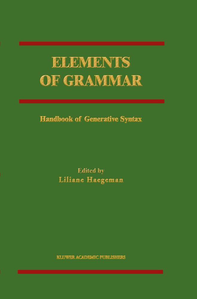 Elements of Grammar als Buch