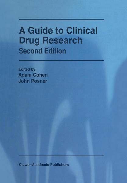 A Guide to Clinical Drug Research als Buch