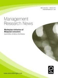 Management Research News, Volume 29, Issue 1 & ...