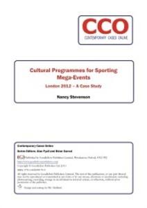 Cultural Programmes for Sporting Mega Events al...