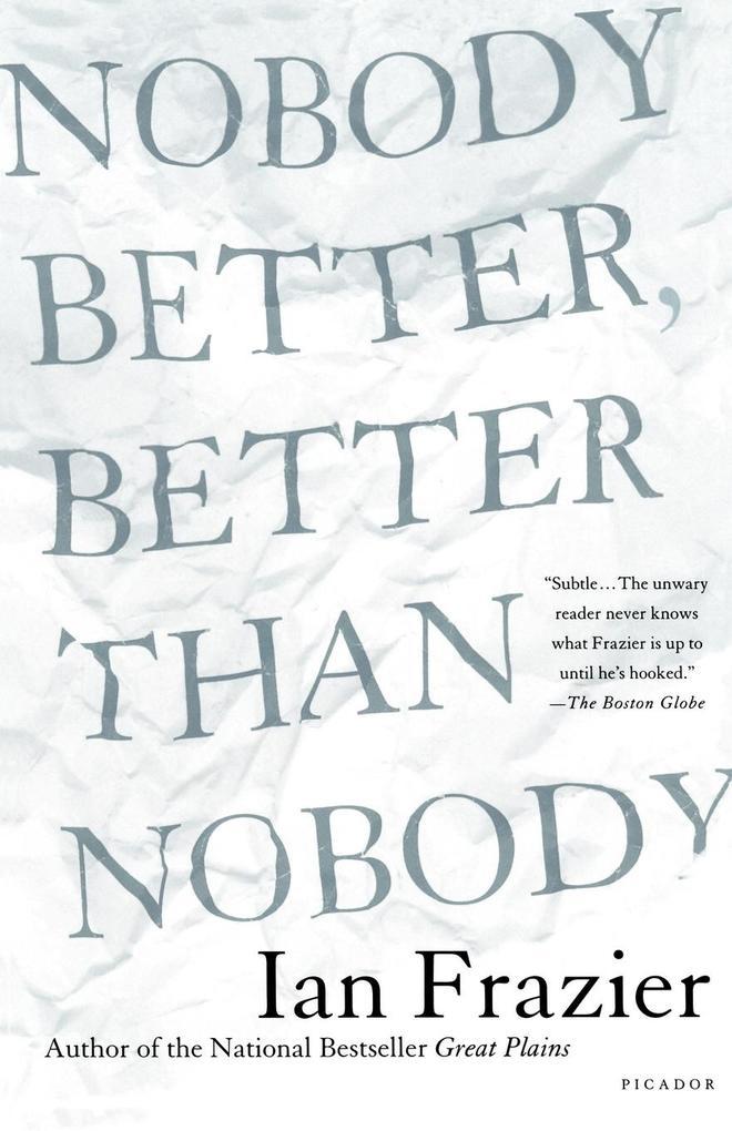 Nobody Better, Better Than Nobody als Taschenbuch