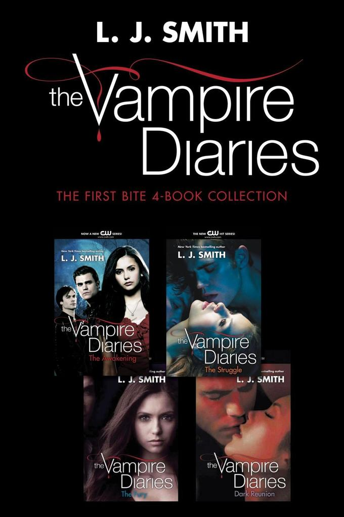 Vampire Diaries: The First Bite 4-Book Collection als eBook