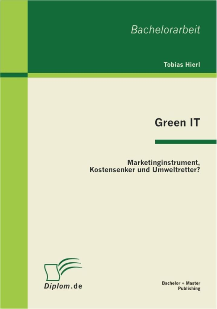 Green IT als eBook Download von Tobias Hierl, T...