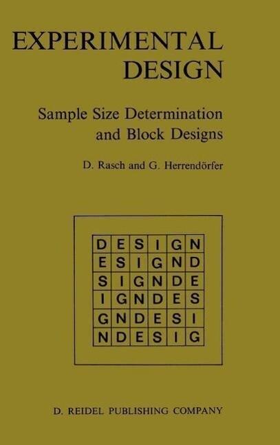 Experimental Design als Buch