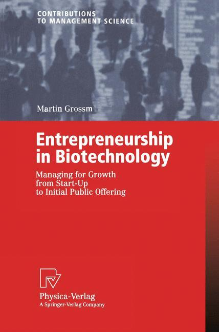 Entrepreneurship in Biotechnology als Buch