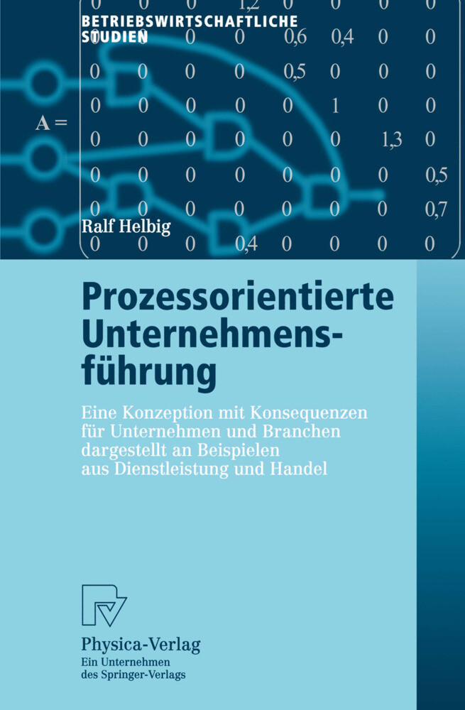 Prozessorientierte Unternehmensführung als Buch