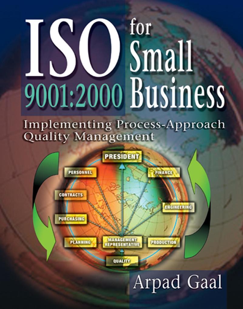 Iso 9001 als eBook Download von Arpad Gaal