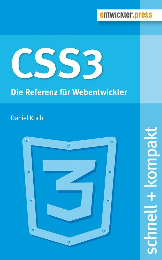 CSS3 als eBook Download von Daniel Koch