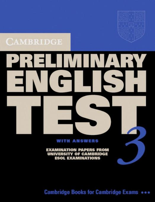 Cambridge Preliminary English Test 3. Student's Book with answers. Lower-Intermediate als Buch
