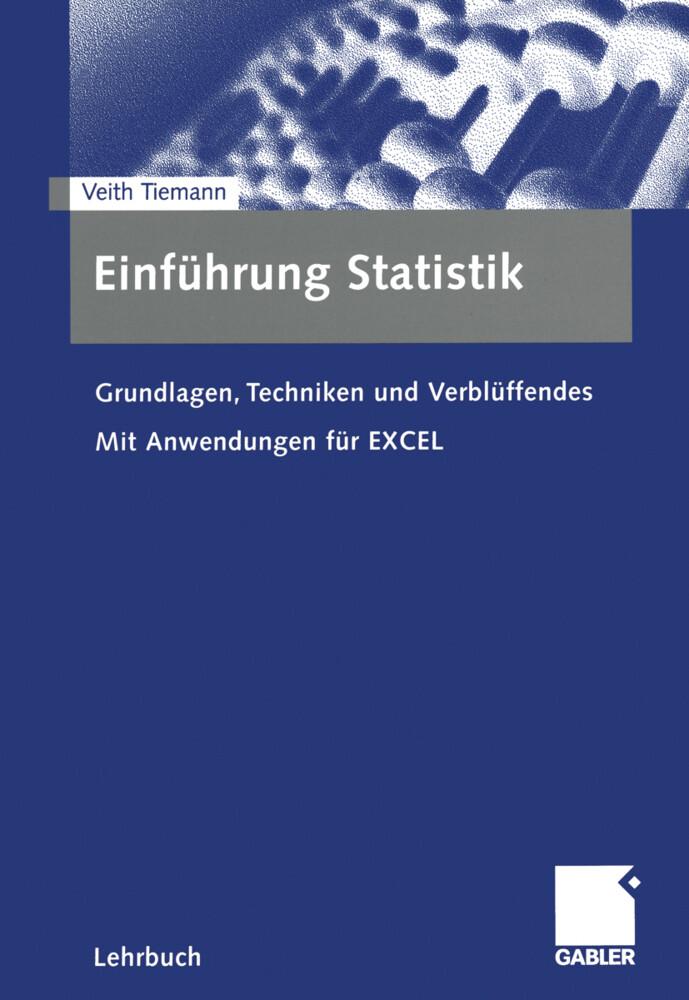 Einführung Statistik als Buch