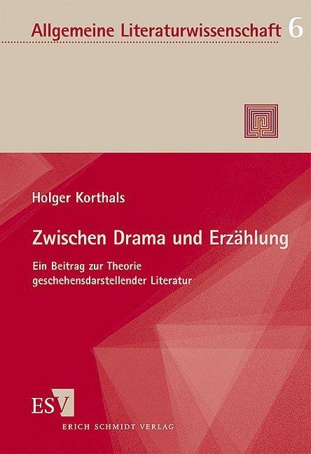 Zwischen Drama und Erzählung als Buch