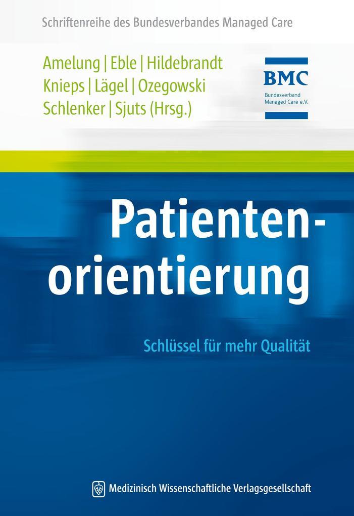 Patientenorientierung als Buch