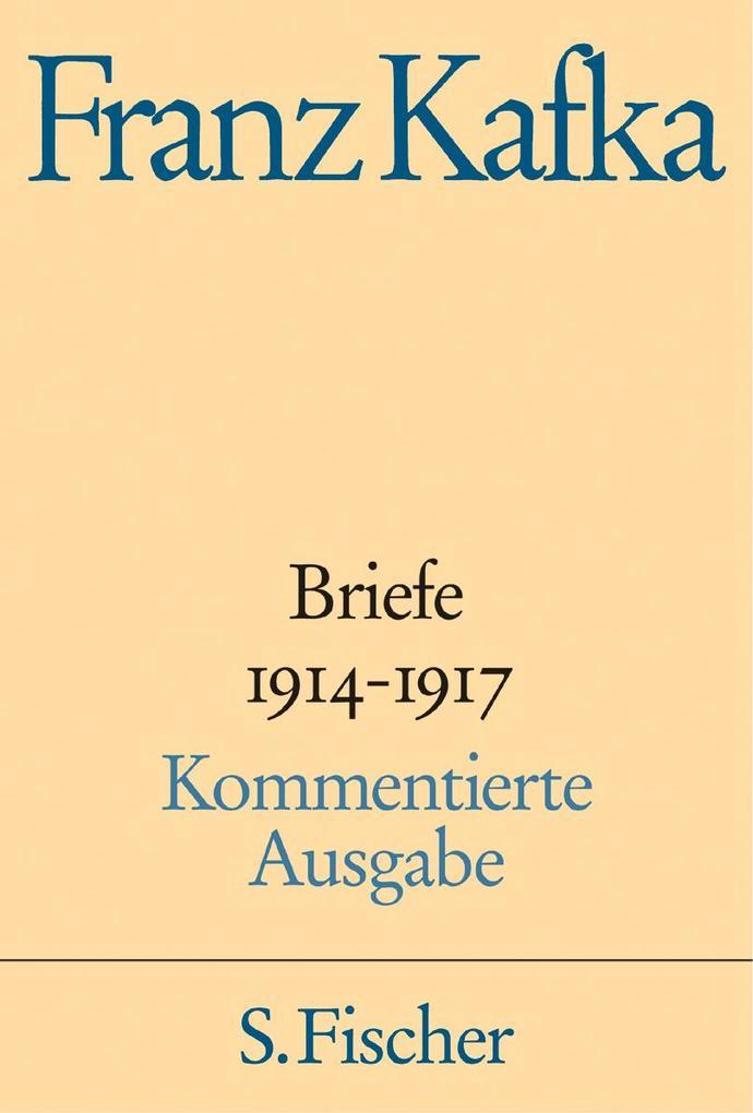 Briefe 1914-1917 Kommentierte Ausgabe als Buch