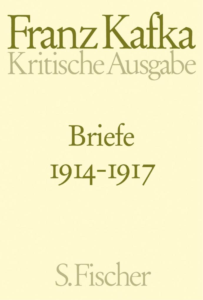 Briefe 1914 - 1917 als Buch