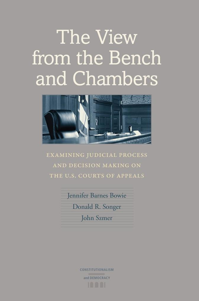 The View from the Bench and Chambers als eBook ...