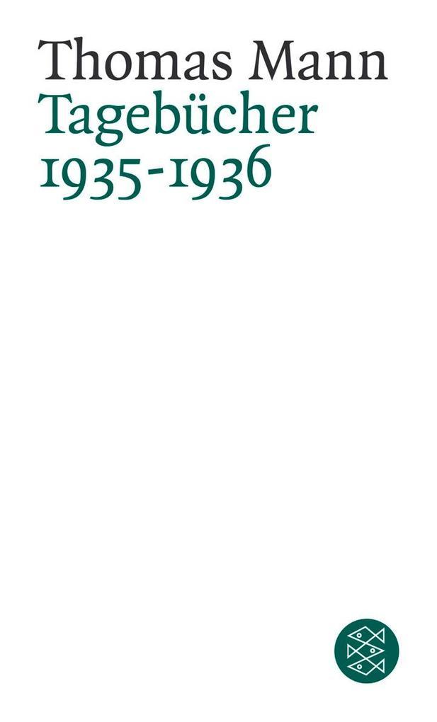 Tagebücher 1935 - 1936 als Taschenbuch