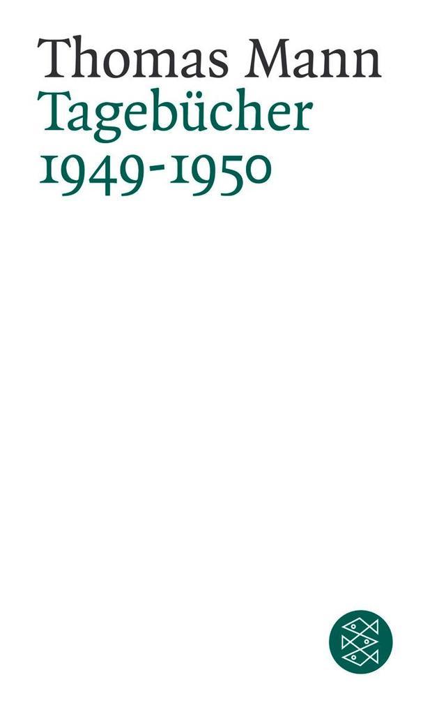 Tagebücher 1949 - 1950 als Taschenbuch