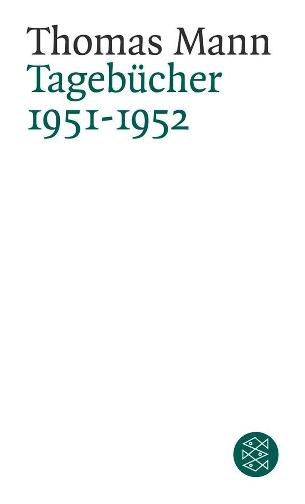 Tagebücher 1951 - 1952 als Taschenbuch