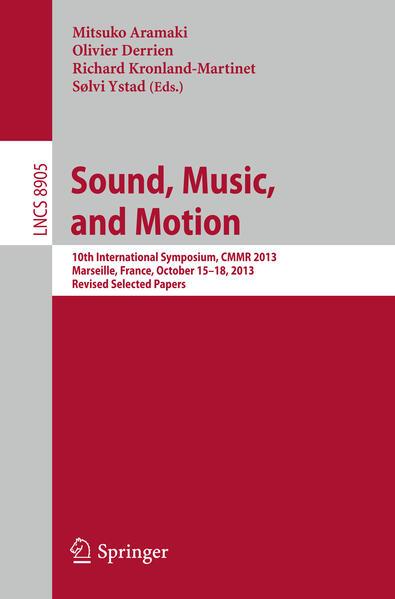 Sound, Music and Motion als Buch von