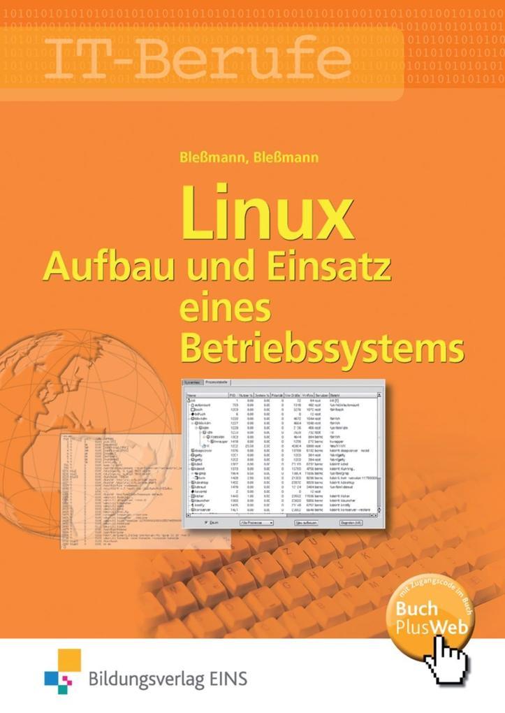 Linux als Buch von Bernd Bleßmann, Jörg Bleßmann