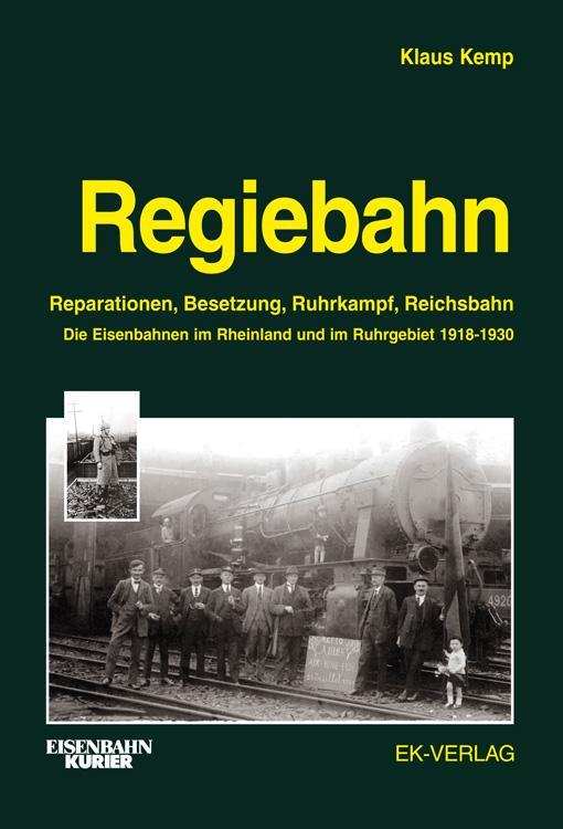 Regiebahn als Buch von Klaus Kemp