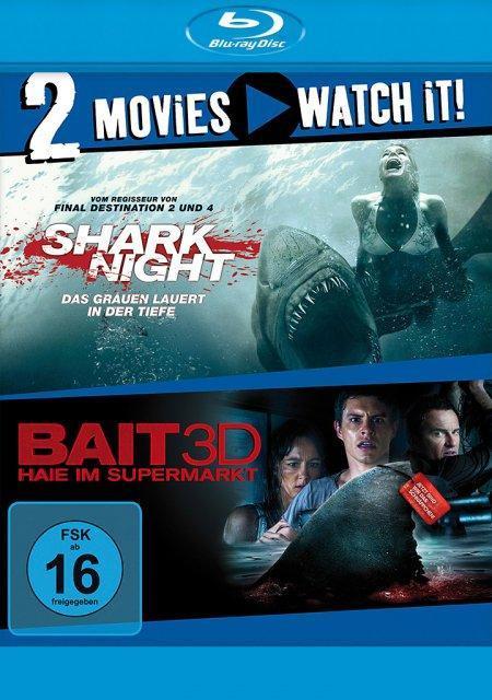 Shark Night & Bait - Haie im Supermarkt