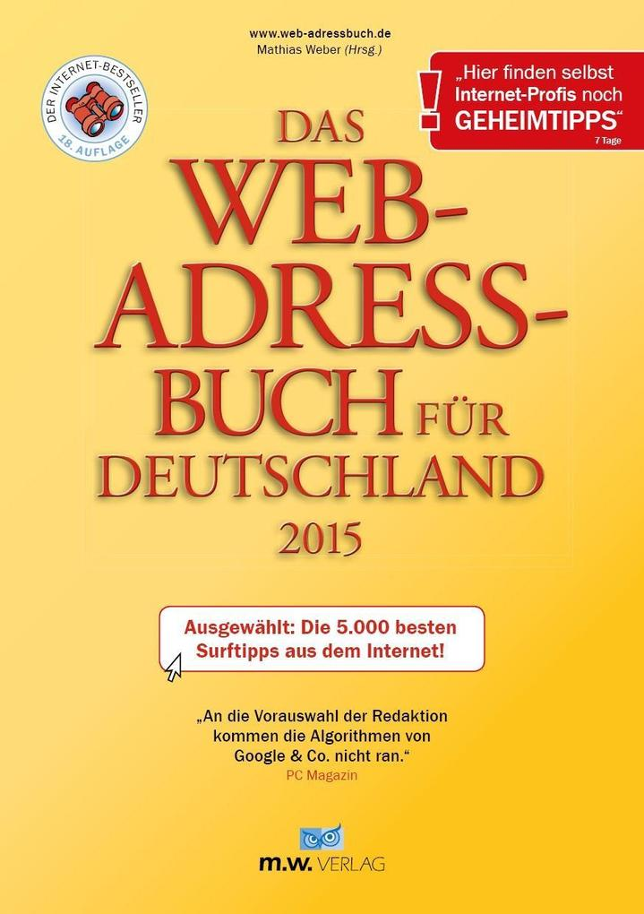Das Web-Adressbuch für Deutschland 2015 - E-Boo...