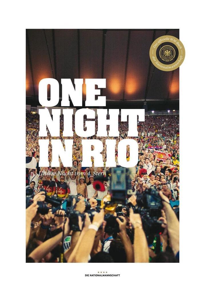 Die Nationalmannschaft - One Night in Rio (Fan-Edition) als Buch