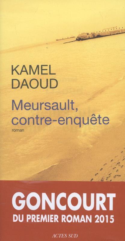 Meursault, contre-enquête als Buch