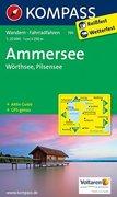 Ammersee - Wörthsee - Pilsensee 1 : 25 000
