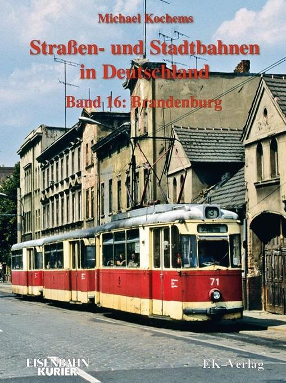 Strassen- und Stadtbahnen in Deutschland 16. Br...
